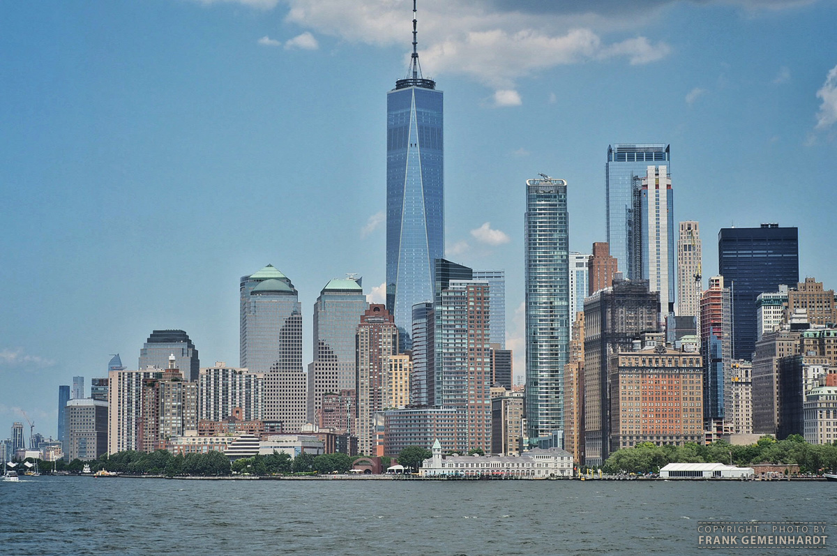 New York, Manhattan Island, One World Trade Center