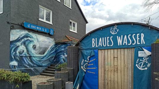 Ausstellung Frank Gemeinhardt Blaues Wasser Frankfurt
